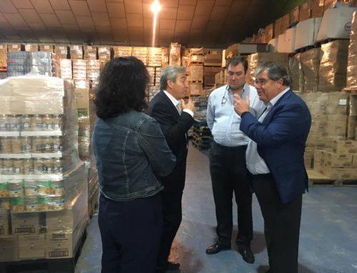 Visita del Delegado del Gobierno en Andalucía