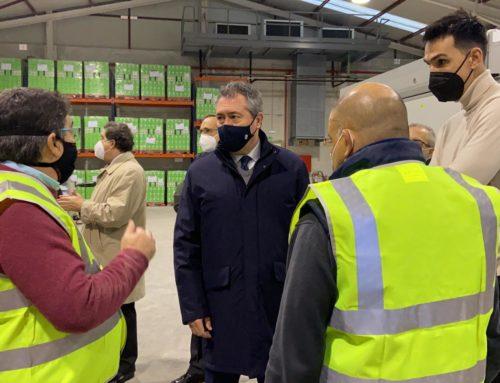 Juan Espadas visita nuestras nuevas instalaciones