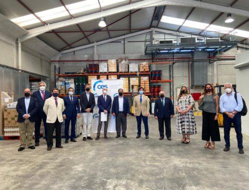 La CES visita la Fundación Banco de Alimentos de Sevilla